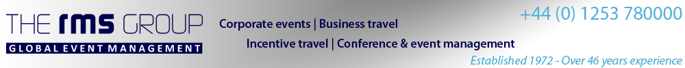RMS Conference & Business Travel | Call 01253 780000
